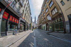 Вулиці центральної частини Брюсселю