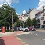 Одна з центральних вулиць Дебрецена