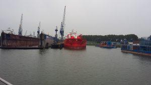 Кораблі у порту