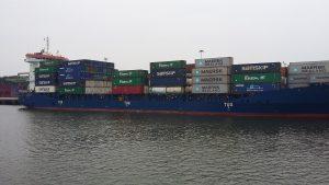 Роттердам - портові контейнери