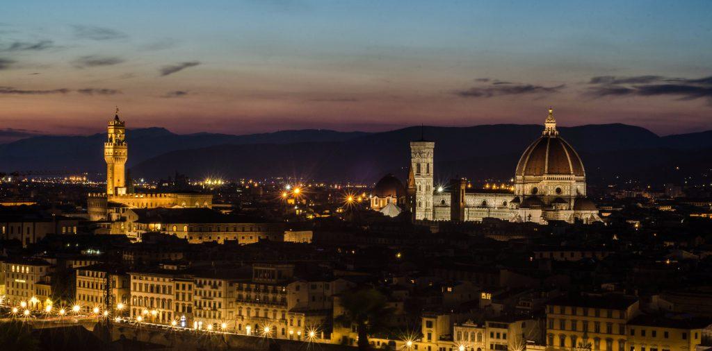Нічна Флоренція
