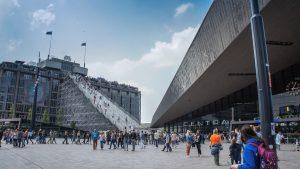 Привокзальна площа Роттердаму