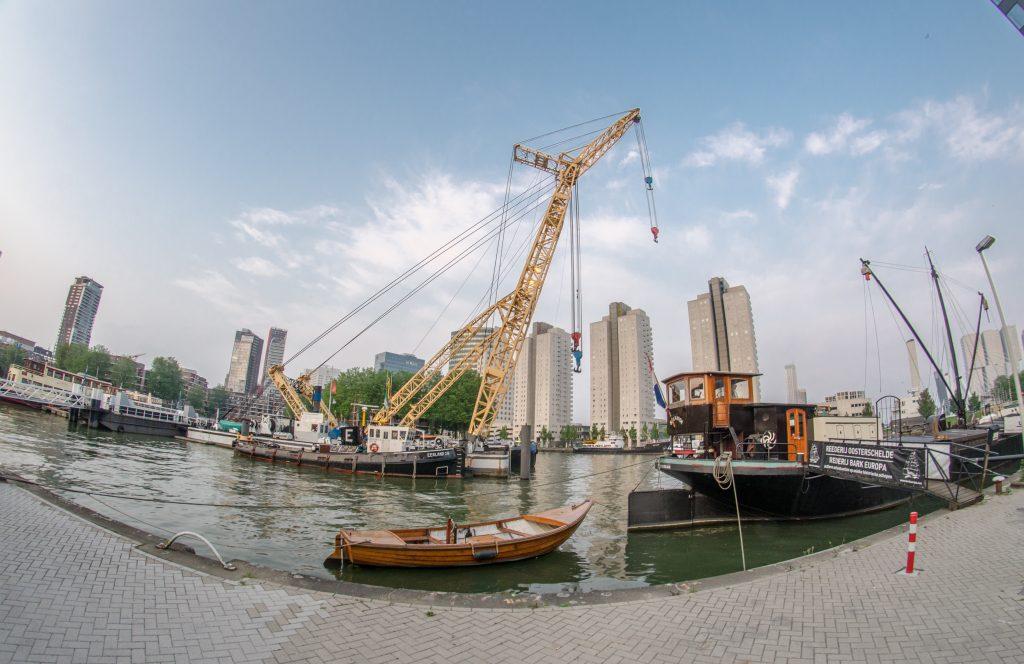Експонати морського музею в Роттердам